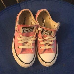 Little girls Pink Converse
